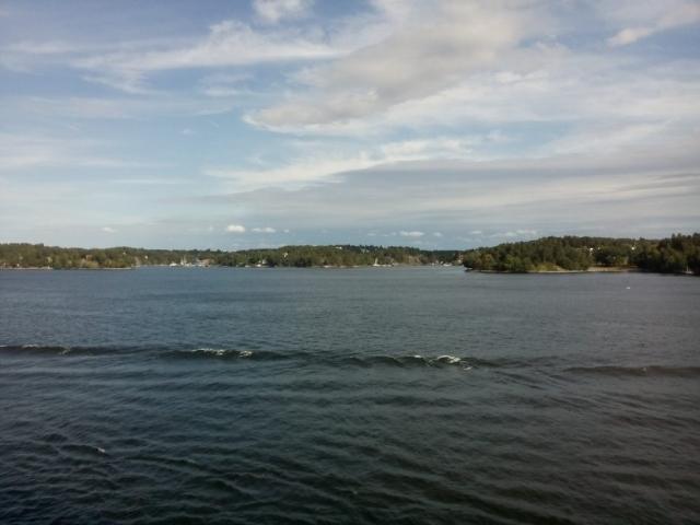 Überfahrt MSC Fantasia (Schwedische Inseln)